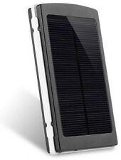 FABDY ® SPB-12 Solar Power Bank 20,000 mAh - Black