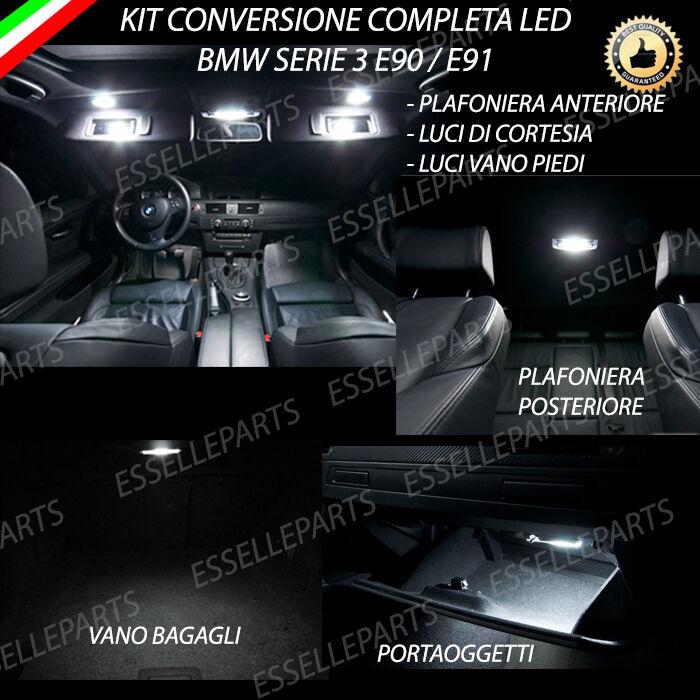 KIT LED INTERNI BMW BMW BMW SERIE 3 E90 CONVERSIONE COMPLETA +LED ANTI POZZANGHERA 5a27c6