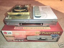 LG V8705DS DVD-Player / VHS-Videorecorder in OVP, inkl. FB&BDA, 2J. Garantie