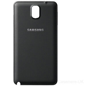 reputable site b24b9 4576e Details about Samsung Galaxy Note 3 N9000 N9005 Battery Door Back Cover  Rear Case Black