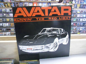 AVATAR-Runnin-039-The-Red-Light-LP-EX-private-press-Illinois-Private-Hard-Rock-AOR