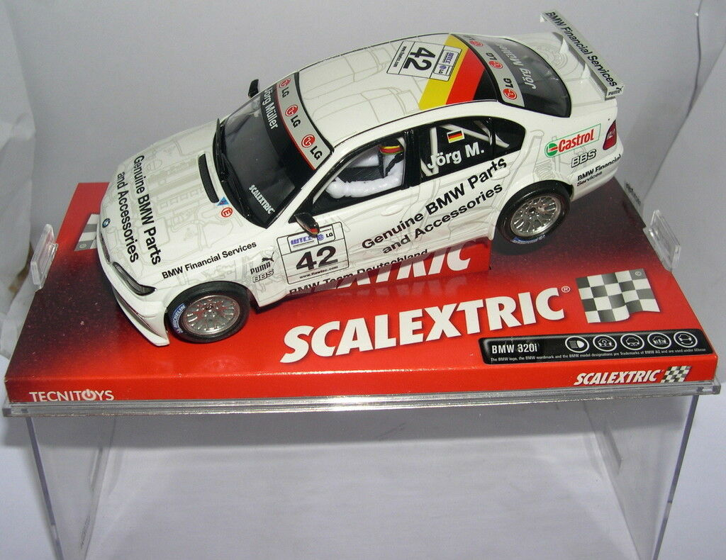SCALEXTRIC 6197 BMW 320I WTCC JÖRG M. MB