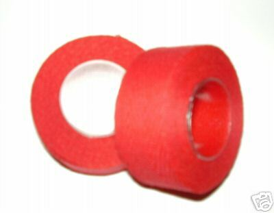 Tressostar Cotton Cloth Handlebar Tape Red  Two