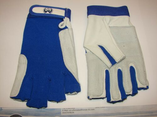 S 1 Paar Segelhandschuhe Leder Handschuhe 5 Finger frei  Gr XL neu