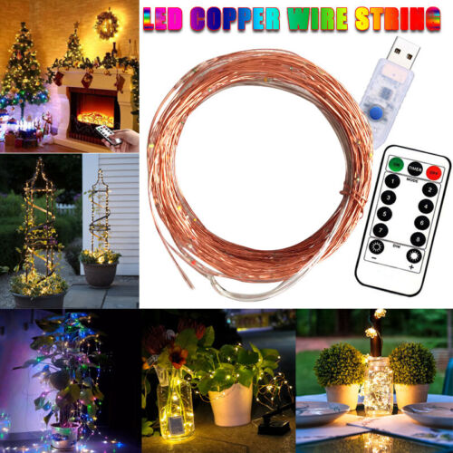 LED Firefly Bunch Lights Christmas Halloween Party Decorative Twinkle Lights