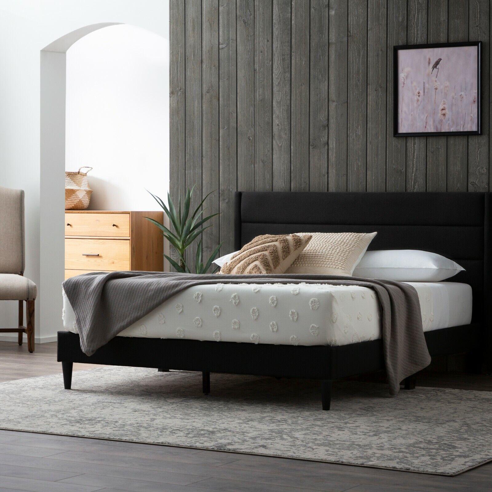 Conner Black California King Upholstered Low Profile Bed For Sale Online Ebay