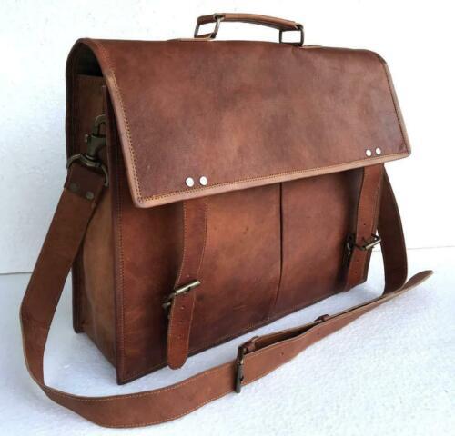 Vintage Women/'s Genuine Real Leather Handbag Shoulder Bag Satchel Messenger NEW