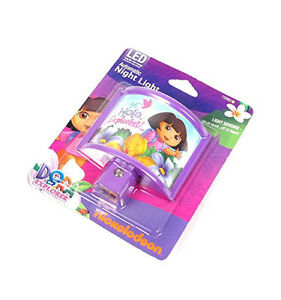 Dora the Explorer Automatic LED Night Light Long Life Low Energy Light Sensing