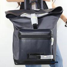 Men's Coach Terrain Explorer Perforated Backpack Book Bag F56662 Navy