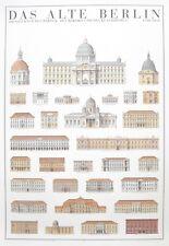 Das Alte Berlin Poster Kunstdruck Bild Offsetdruck 100x70 cm Kostenloser Versand