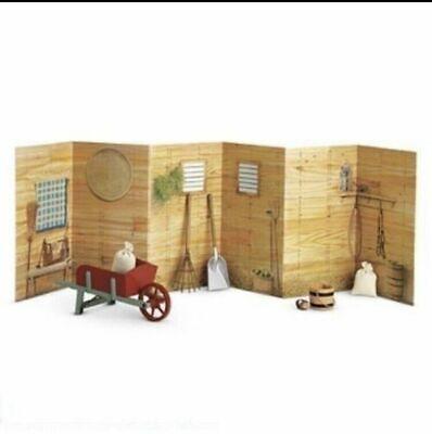 Doll bed Trojan horse  baby room miniature play scene BRPF