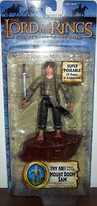 Mount-Doom-Sam-Electronic-The-Lord-Of-The-Rings-ToyBiz-6-034-Figures