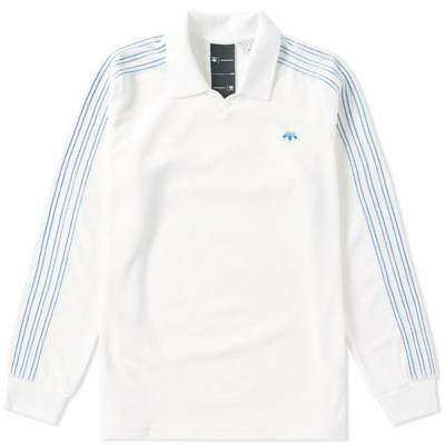 BR9239 Men/'s Brand New Adidas /& Alexander Wang Velour Wear Fashion Long Sleeve
