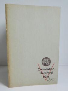 Program I. B.M International Brotherhood Of Magicians 1946 Convention