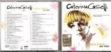 CATERINA CASELLI 2 CD CASCO D'ORO dal 1964 fuori catalogo 2004 EDIZ.MONDADORI