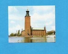 OCCHI SUL MONDO-MIRA 1966-Figurina n.443- STOCCOLMA - IL MUNICIPIO -NEW