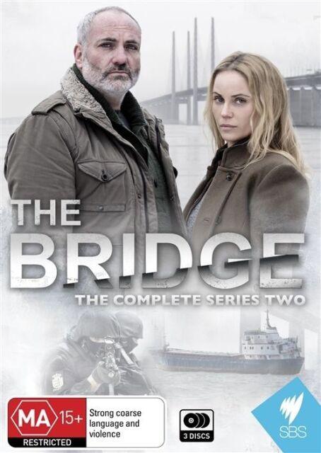 The Bridge : Series 2 (DVD, 2014, 3-Disc Set) Brand New Sealed