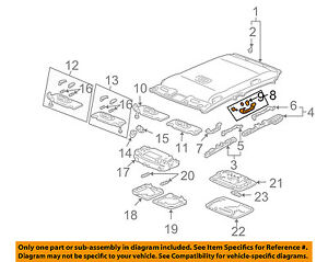 Genuine Hyundai 84630-2H000-8M Tray Assembly Upper