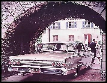 1963 Mercury Dlx Color Brochure Monterey Custom S-55