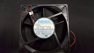 1x MINEBEA 5015KL-05W-B30 , FAN AXIAL 127X38.4mm 24VDC 0.74A BRUSHLESS Fan 2WIRE