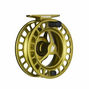Sage-Spectrum-3-4-Fly-Reel-Color-Lime-NEW-FREE-FLY-LINE