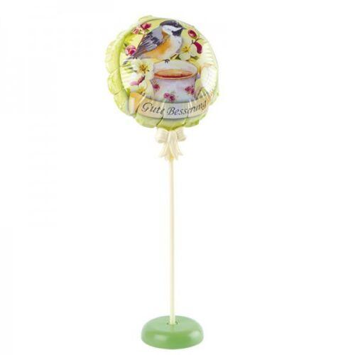 Zauber-Ballon mit Stab und Podest