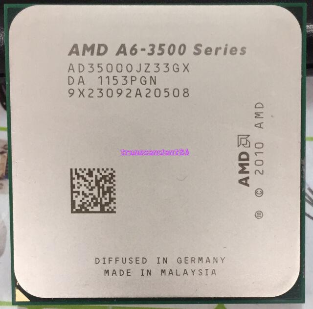 AMD A6-Series A6-3500 (AD3500OJZ33GX) CPU 3M/2.1 GHz Socket FM1 100% Work