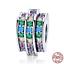 New-925-Sterling-Silver-Rhinestone-CZ-Love-Heart-Charm-Beads-fit-Women-Bracelets thumbnail 1