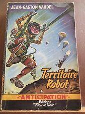 Jean-Gaston Vandel: Territoire Robot / Fleuve Noir Anticipation N°43, 1954