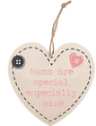 Something Different Mum's Are Special Hanging Heart Sign