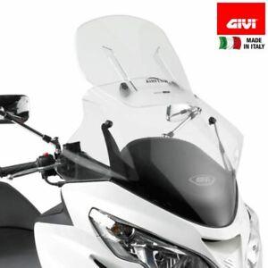 Windscreen-givi-AF266-First-a-Mounting-Suzuki-400-an-Burgman-2006-2016