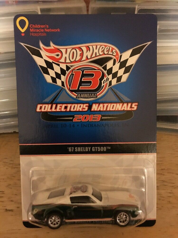 Hot Wheels 13th Annual Collectors Nationals 67 Shelby GT500 1106 1106 1106 1500 2c61a7