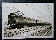 LMS Electric Train   Altrictham Manchester  Vintage Photo Card # VGC