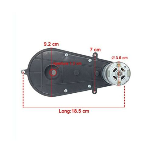 550 35000RPM Gearbox 12V Electric Motor Kids Ride On Cars Motorcycles High Speed