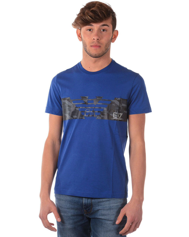 T shirt emporio armani ea7 mens Blau 3zpt44pj30z 1570 make offer m tl