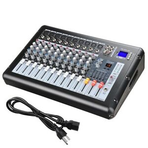 Professional-10-Channel-Mixer-Power-USB-System-Amplifier-Amp-16DSP