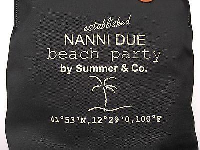 Neue Nanni Due Beach D-grün Damentasche Kulturtasche Kosmetiktasche Strandtasche