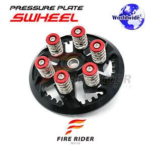 For-Ducati-1098-R-S-748-916-CNC-Billet-Red-Springs-Swheel-Black-Pressure-Plate