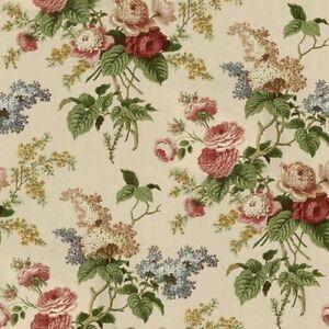 WAVERLY-VALANCE-Ascot-Emma-039-s-Garden-Jewel-Lined-3-034-Rod-Pocket
