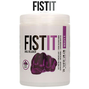 Fist It Lubricant 1000ml Anal Relaxer Water Based Lubrificante Rilassante Anale