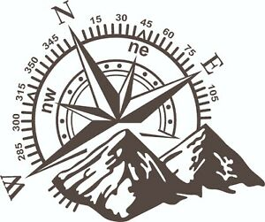 MOTORHOME-CAMPER-VAN-CARAVAN-STICKERS-DECAL-GRAPHIC-COMPASS-MOUNTAINS