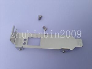 New Low Profile Bracket for Emulex LPE12000,1250 LPE16000, HP AJ762A,81E