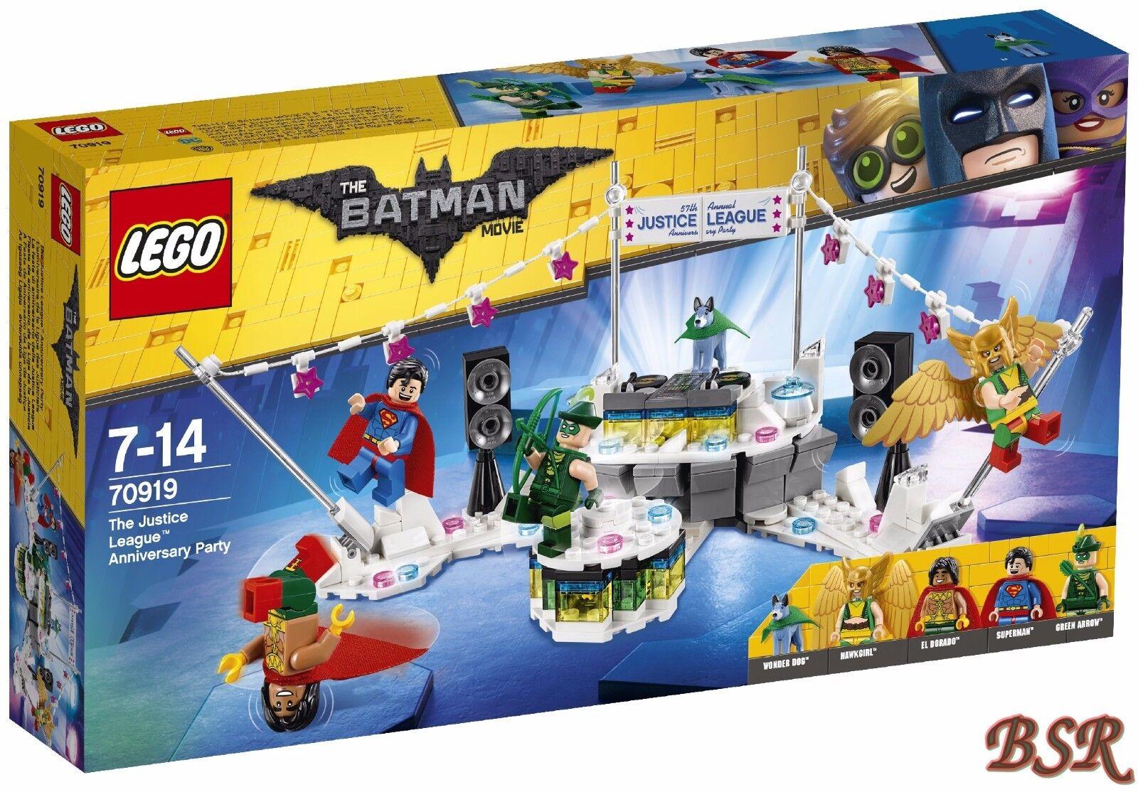 LEGO® 70919 The Justice League™ Anniversary Party & 0.- Versand & NEU & OVP  | Einzigartig