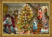 Richard Sellmer Verlag - Traditional German Paper Advent Calendar Christmas Tree