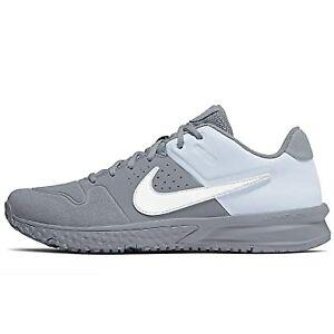 abeja surco Intentar  Nuevo Para Hombre Nike Turf HORQUILLA roscada Alfa Huarache Varsity Béisbol  Zapatos Gris Lobo 12 M   eBay
