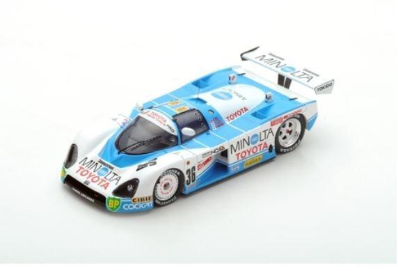 Toyota 88C - G. Lees K. Hoshino M. Sekiya - 24h Le Mans 1988  36 - Spark