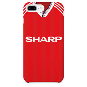 6baebbc5c6c Man Utd Retro Kit iPhone 5 SE 6 6s 7 8 X Plus Phone Cover Case ...
