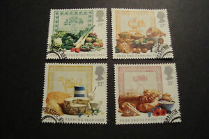 GB-1989-Commemorative-Stamps-Farming-Very-Fine-Used-Set-ex-fdc-UK-Seller