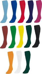 Football Socks Soccer Hockey Rugby Sports Socks PE Mens//Womens Boys//Girls