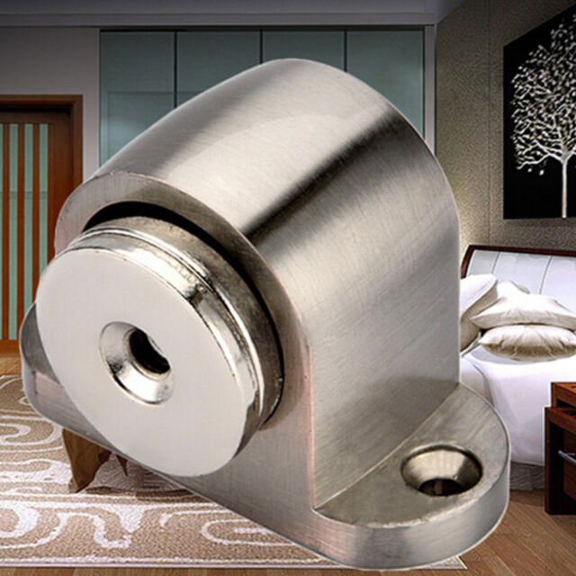 Useful 304 Stainless Steel Home Door Floor Magnetic Stop Stopper Holder Catch